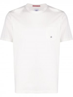 Patch pocket T-shirt CP Company. Цвет: белый