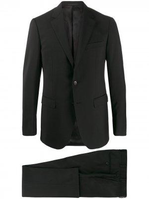 Строгий костюм-двойка LANVIN. Цвет: черный