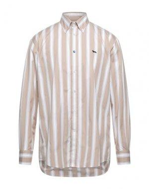 Pубашка HARMONT&BLAINE. Цвет: бежевый