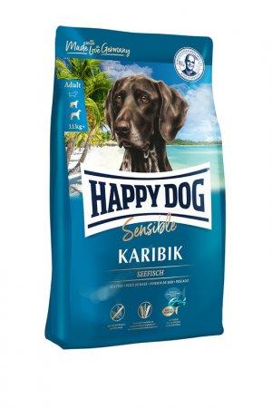 Сухой корм для собак 1 кг HAPPY DOG. Цвет: белый
