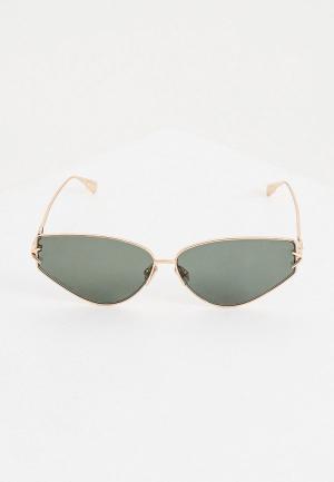 Очки солнцезащитные Christian Dior DIORGIPSY2 DDB. Цвет: зеленый