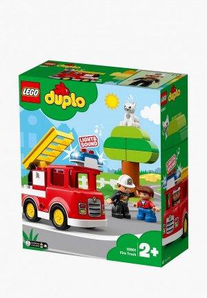 Конструктор LEGO DUPLO 10901 Пожарная машина. Цвет: разноцветный