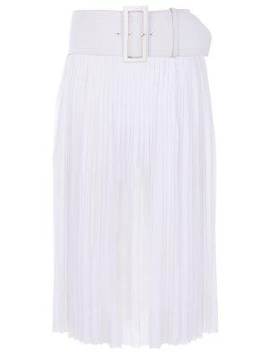 Плиссированная юбка с поясом CELINE
