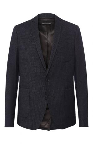 Однобортный пиджак Drykorn. Цвет: темно-синий
