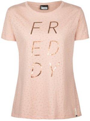 Футболка женская , размер 46-48 Freddy. Цвет: розовый