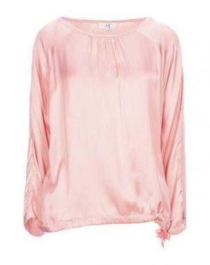 Блузка JEFF. Цвет: розовый