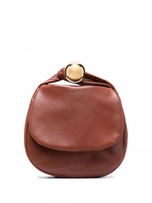 Twist-handle tote bag Jil Sander. Цвет: коричневый