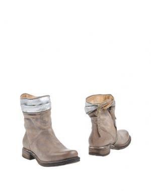 Полусапоги и высокие ботинки AIR STEP. Цвет: хаки