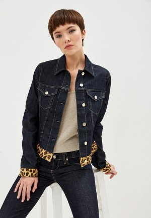 Куртка джинсовая Liu Jo. Цвет: синий