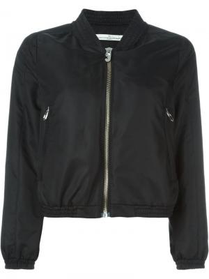 Классическая куртка-бомбер Golden Goose Deluxe Brand. Цвет: чёрный