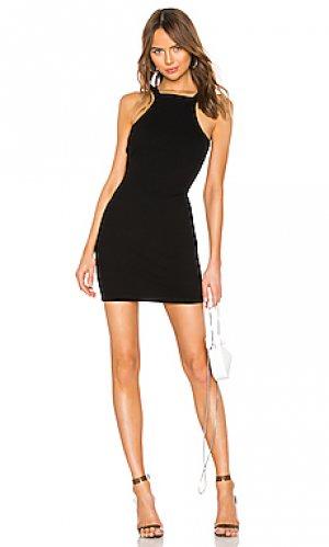 Облегающее мини-платье varigated T by Alexander Wang. Цвет: черный