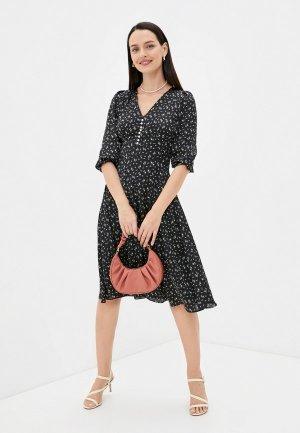 Платье Belucci. Цвет: черный