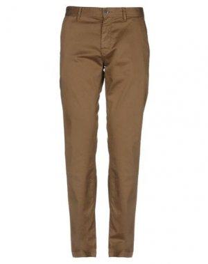 Повседневные брюки BOSS HUGO. Цвет: хаки