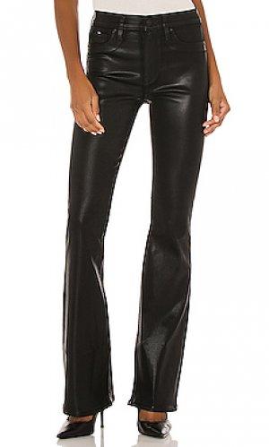 Расклешенные джинсы barbara Hudson Jeans. Цвет: черный