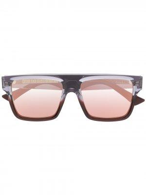 Солнцезащитные очки Cutler & Gross. Цвет: синий