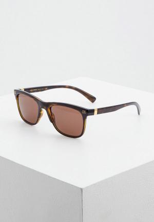 Очки солнцезащитные Dolce&Gabbana DG6139 502/73. Цвет: коричневый