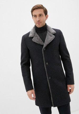 Пальто Berkytt. Цвет: серый