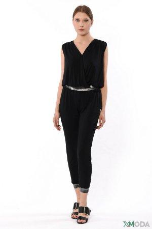 Комбинезон Liu-Jo Jeans. Цвет: чёрный