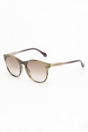 Очки солнцезащитные Carolina herrera NEW YORK. Цвет: мультицвет, коричневый