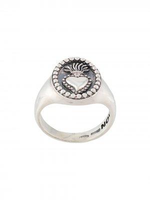 Перстень Ex Voto Nove25. Цвет: серебристый