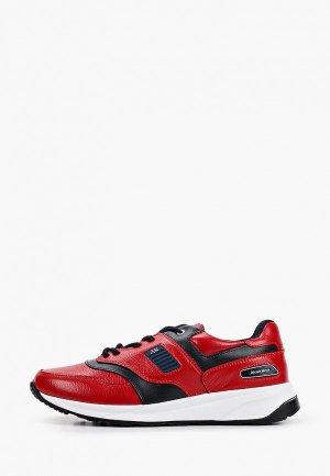 Кроссовки Alessio Nesca. Цвет: красный