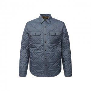 Утепленная куртка RRL. Цвет: синий