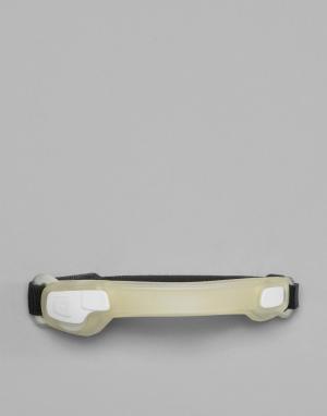 Белый браслет на предплечье со светодиодными лампами Active Sport Hama. Цвет: белый