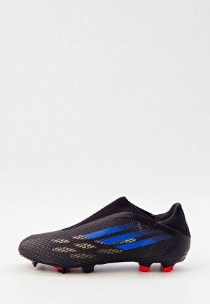Бутсы adidas X SPEEDFLOW.3 LL FG. Цвет: черный