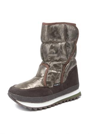 Сапоги King Boots. Цвет: коричневый