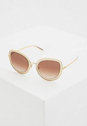 Очки солнцезащитные Dolce&Gabbana DG2226 02/13. Цвет: золотой