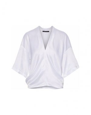 Блузка DEREK LAM. Цвет: белый