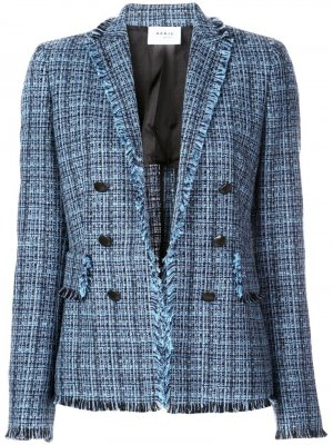 Куртка с бахромой Akris Punto