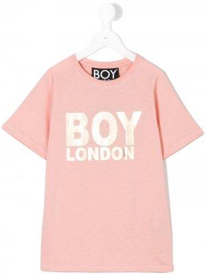 Футболка London Boy Kids. Цвет: розовый