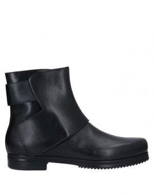 Полусапоги и высокие ботинки THAMANYAH. Цвет: черный