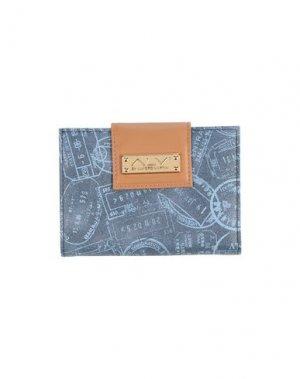 Бумажник ALVIERO MARTINI 1a CLASSE. Цвет: синий