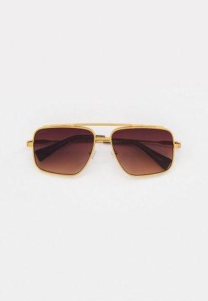 Очки солнцезащитные Baldinini BLD 2143 MM 403. Цвет: золотой