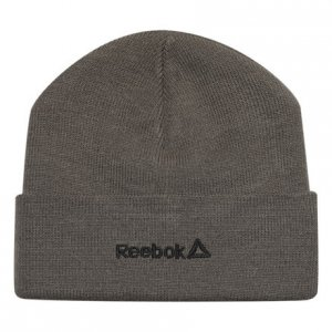 Шапка Logo Reebok. Цвет: terrain grey / black