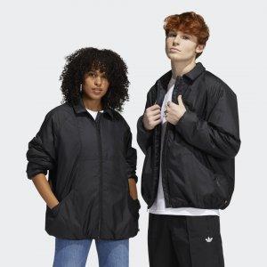 Утепленная куртка Coach (Унисекс) Originals adidas. Цвет: черный