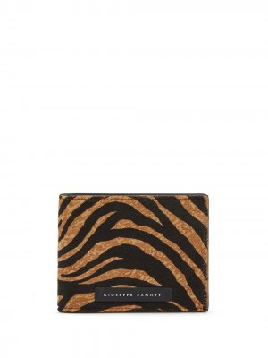 Бумажник Albert Wild Giuseppe Zanotti. Цвет: коричневый