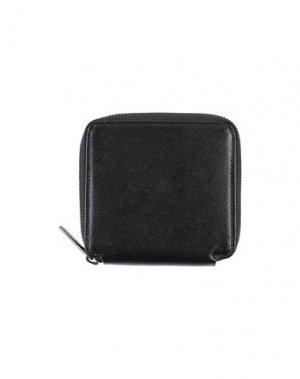 Бумажник ANDREA D'AMICO. Цвет: черный