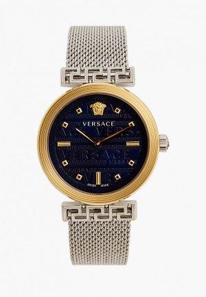 Часы Versace. Цвет: серебряный