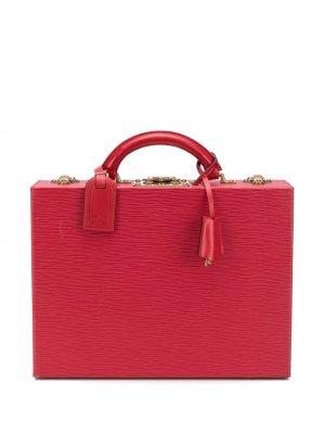 Шкатулка 1990-х годов Louis Vuitton. Цвет: красный