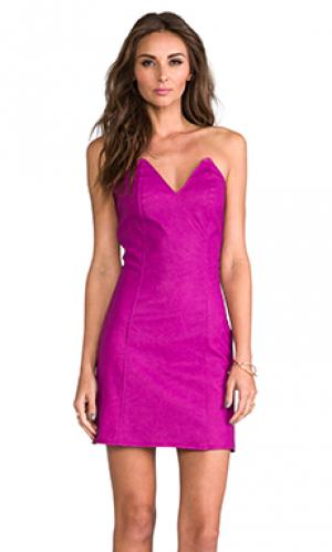 Платье ashton Boulee. Цвет: фуксия