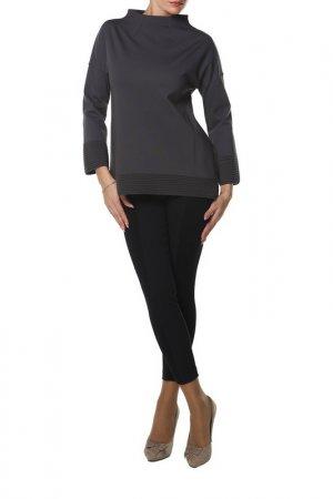 Пуловер SHES SO SHE'S. Цвет: серый