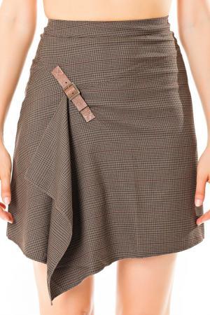 Skirt Angels never die. Цвет: коричневый
