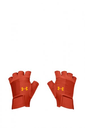 Перчатки Under Armour. Цвет: красный