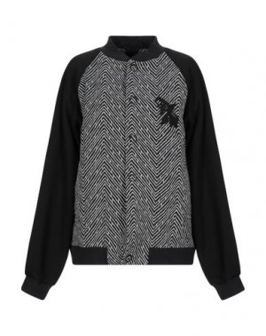 Куртка GRINKO. Цвет: черный