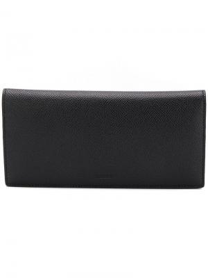 Rectangular wallet Bally. Цвет: черный