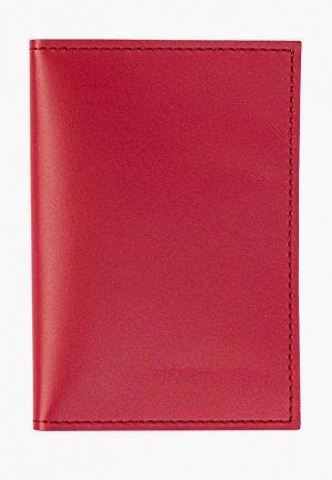 Обложка для паспорта Kokosina Органайзер. Цвет: красный