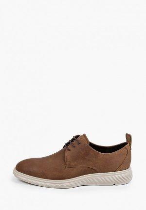 Ботинки Ecco ST.1 HYBRID LITE. Цвет: коричневый